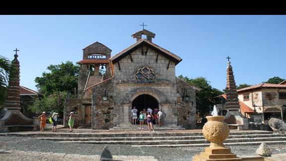 Kosciól Sw. Stanislawa w Altos de Chavon