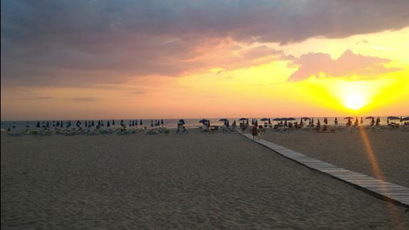 Plaża w pobliżu hotelu