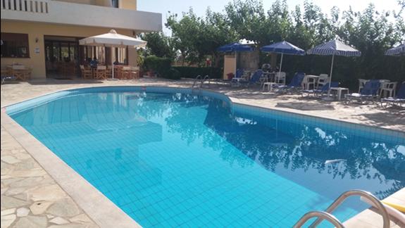 Super basen zadbany i czysty glebokosc od 1 M  do 2.40 m
