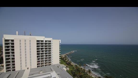 widok z pokoju (10piętro)