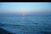 Hotel Blue Bay Family World Aqua Beach - Zachód słońca nad morzem
