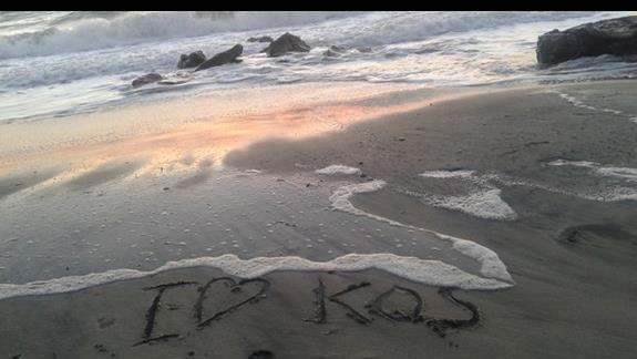 Plaża przy Hotelu Ammos
