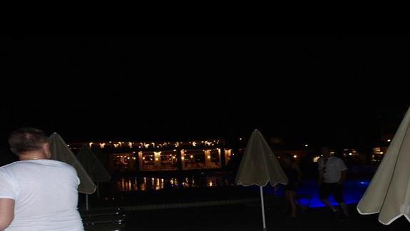 Agia Pelagia nocą
