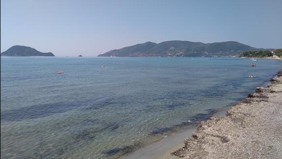 widok na morze...