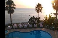 Hotel Nettuno Palace - zachód słońca z pokojowego tarasu