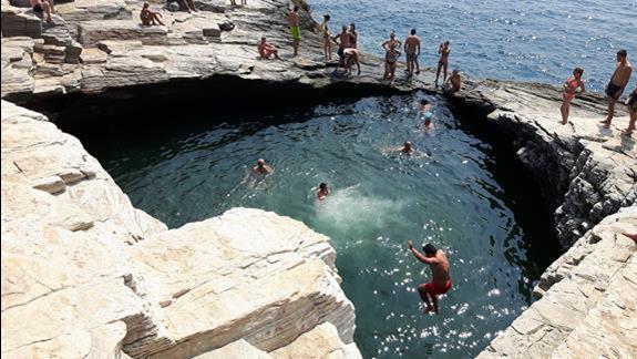 Atrakcje takie jak basen Giola