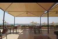 Hotel Albatros Beach Resort - Widok na morze z klimatyzowanej restauracji włoskiej