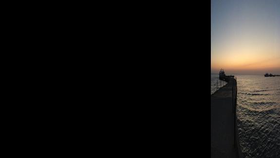 Morze o świcie :)
