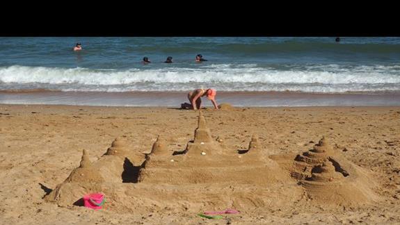Zamek na plazy