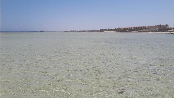 Plaza, ciepla, niesamowita woda!