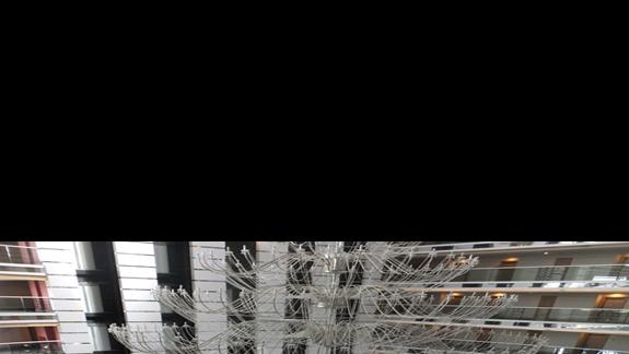widok na lobby