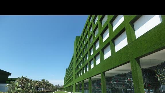 widok na budynek