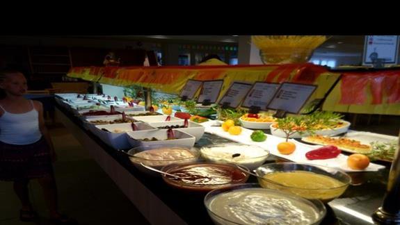 posiłki-bardzo smaczne i bogaty wybór