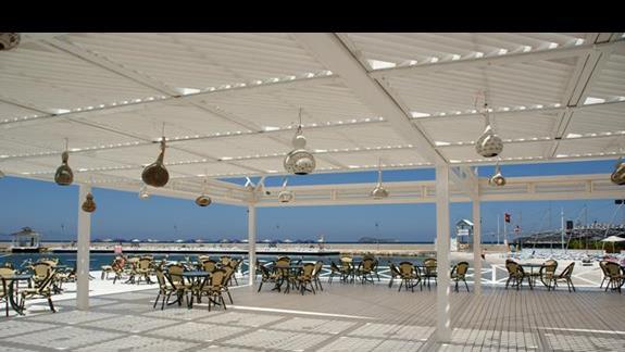 Restauracja przy plaży