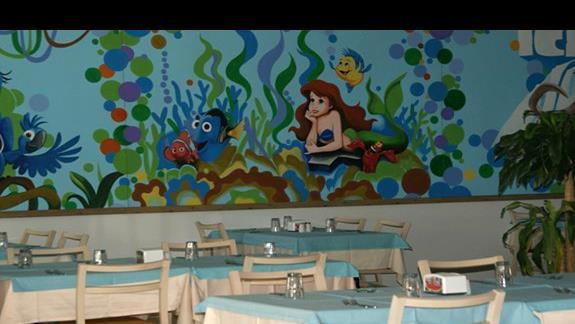 Restauracja głowna, część dla dzieci