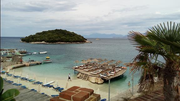 Ksamil plaże