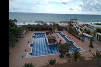 Hotel Quattro Beach Spa - Widok z pokoju