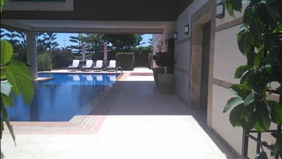 Willa z prywatnym basenem