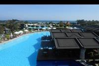 Hotel Limak Lara De Luxe - Widok z restauracji na bali