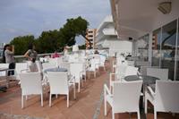 Hotel Flamboyan Caribe - Taras w hotelu Flamboyan Caribe