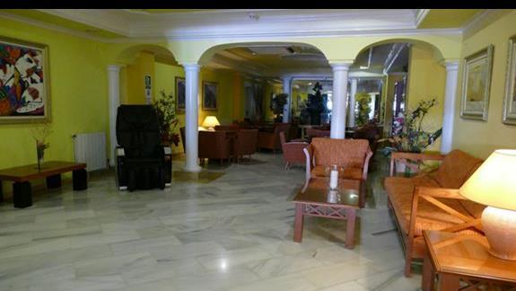 Lobby w hotelu Manaus