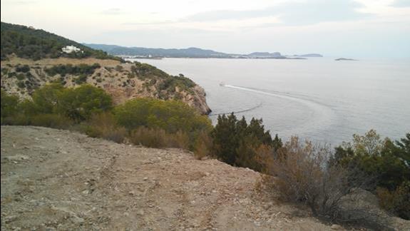 Widok z klifu