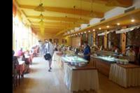 Hotel Nessebar Beach - resaturacja z wystawionym bufetem