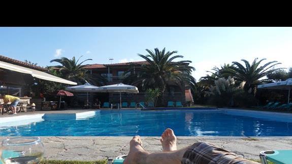 Nad basenem z winkiem - to jest relaks!