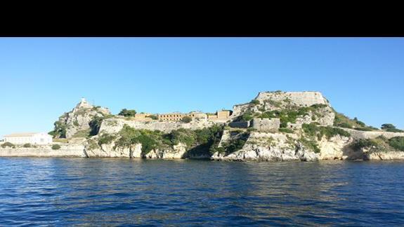 Stary fort w Korfu