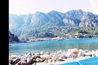 Hotel Turunc - Widok z leżaków na plaży ;)