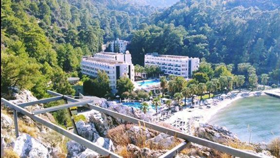 Widok hotelu z góry :)