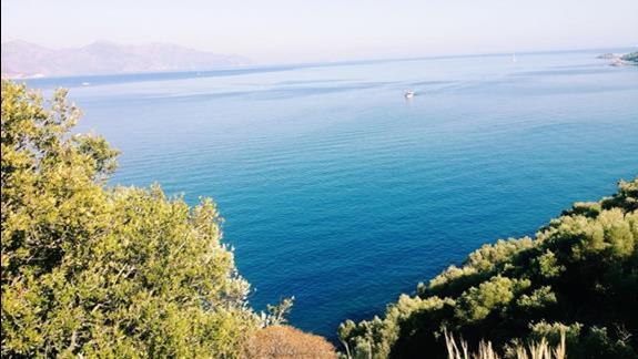 Widok z góry otwartego morza :)