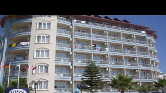 cześc frontowa hotelu