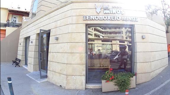 front budynku w h. Minos