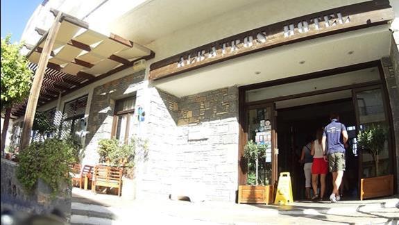 front budynku hotelu Albatros Spa Resort