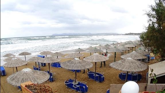 plaża w h. Galini Sea View