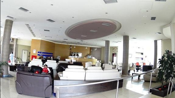 lobby w h. Galini Sea View