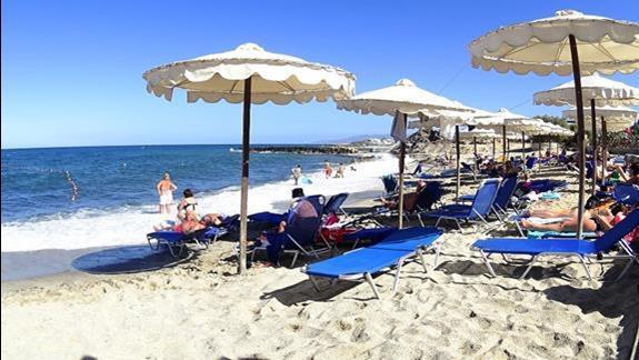 plaża  h. Mitsis Laguna