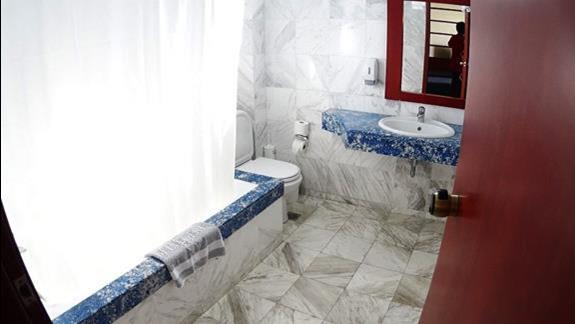 łazienka w p. standard rodzinnym w h. Royal Belvedere
