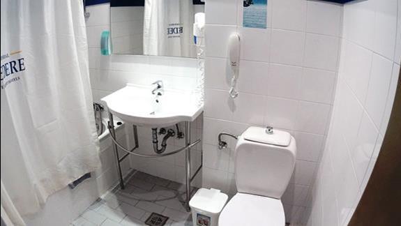 łazienka w p. standard w h. Royal Belvedere