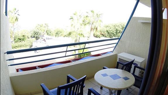 widok z balkonu p. standard rodzinnego Royal Belvedere