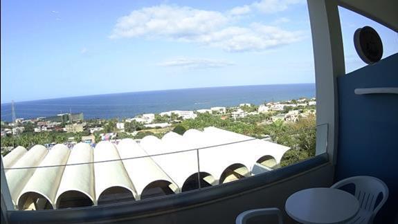 widok z balkonu p. standard z wid. na morze Royal Belvedere