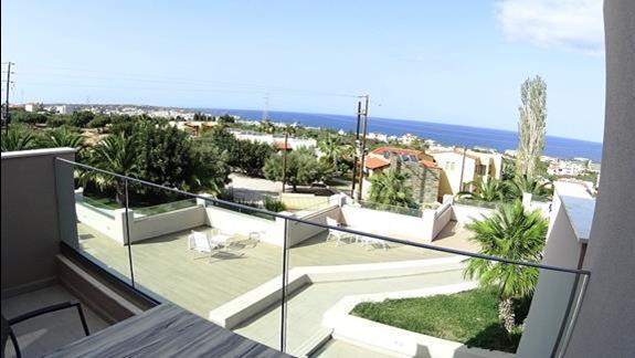 widok z balkonu p. superior z wid. na morze Royal Belvedere
