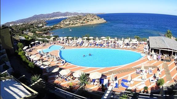 widok z balkonu p. standard z wid. na morze  w h. Blue Marine Resort &SPA