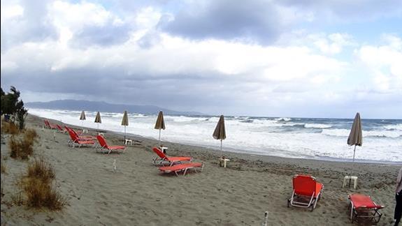 plaża w h. Geraniotis Beach