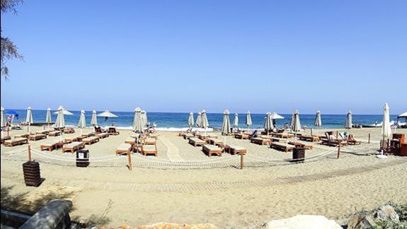 plaża hotelu Aquila Rithymna Beach