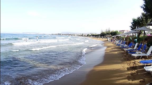 plaża hotelu Iolida Beach