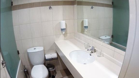 łazienka  p. standard w h. Katrin Bungalows