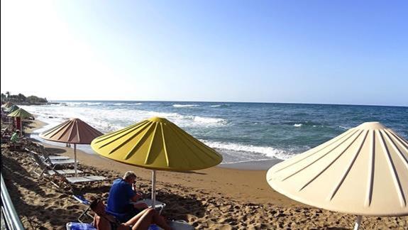 plaża w h. Creta Royal