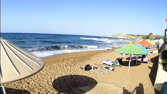 plaża w h. Creta Star